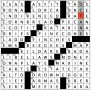 Early Bee Gees Label Crossword