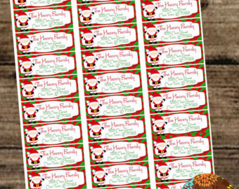 Avery Christmas Labels.Free Printable Christmas Address Labels Avery 5160 Made By