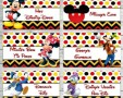 Free Printable Mickey Mouse Clubhouse Food Labels