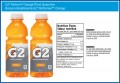 Gatorade Label