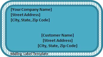 mailing label template word mailing label template label228 made