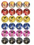 Power Ranger Printable Labels