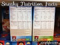 Quaker Oats Maple And Brown Sugar Nutrition Label