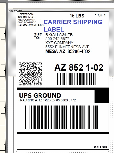 ups shipping label template word shipping label template word principal format printing setup