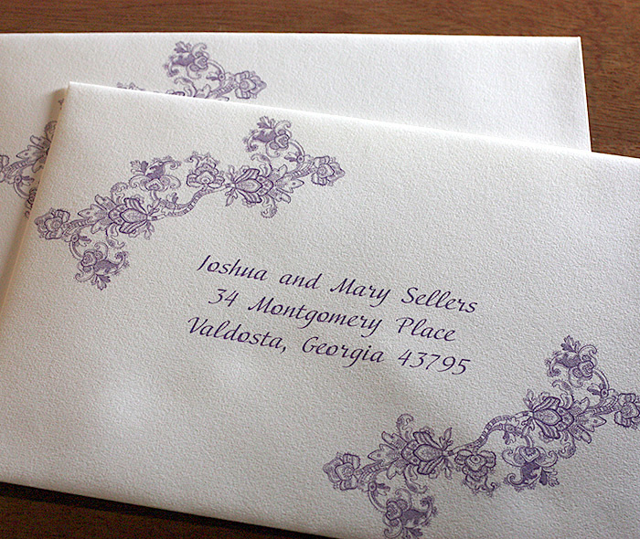 clear wedding labels made by creative label