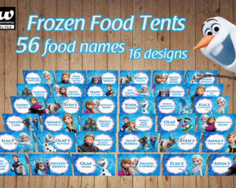 photo regarding Frozen Party Food Labels Free Printable called disney frozen food items labels frozen celebration meals labels 205322
