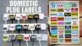 Plug Identification Labels