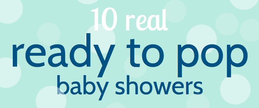 Printable Ready To Pop Baby Shower Labels