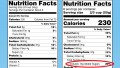 Sugar Nutrition Label