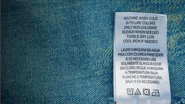 Care Label Translations English French Made By Creative