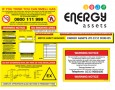 Gas Meter Labels