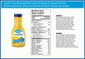 Orange Juice Label Ingredients