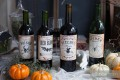 Free Halloween Wine Bottle Labels